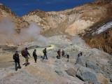 10. в кратере Мутновского влк