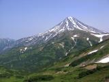 8.вид на Вилючинский вулкан по дороге к влк.Мутновский