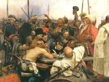 Репин И. Е. Запорожцы пишут письмо турецкому султану.